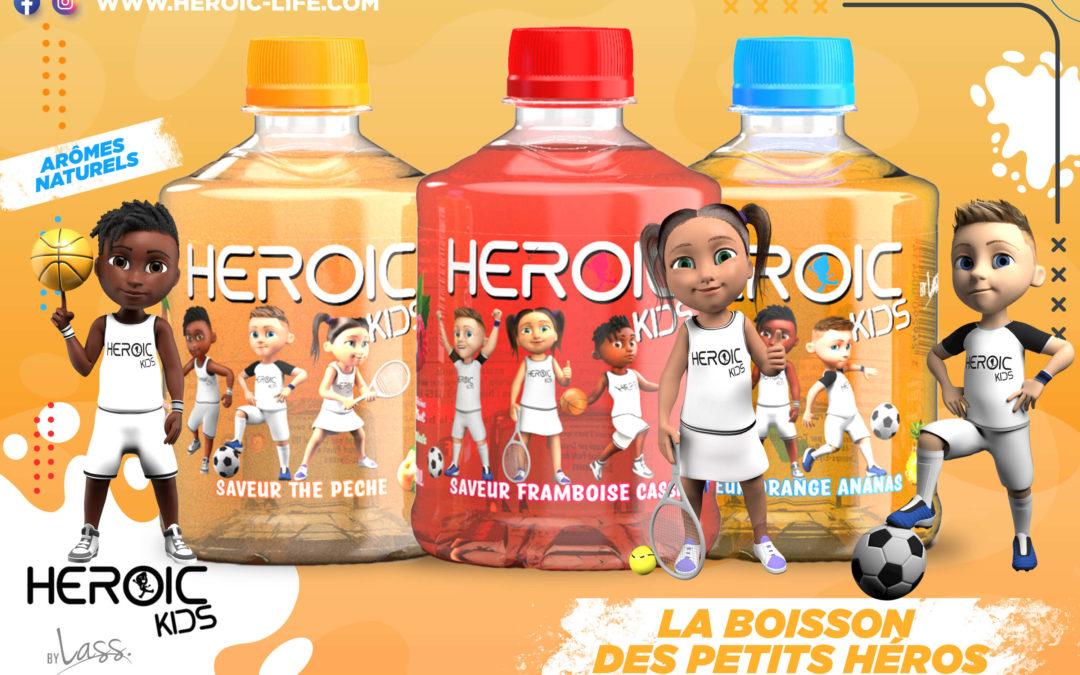 HEROIC KIDS FAIT PEAU NEUVE AVEC DE NOUVEAUX PERSONNAGES !