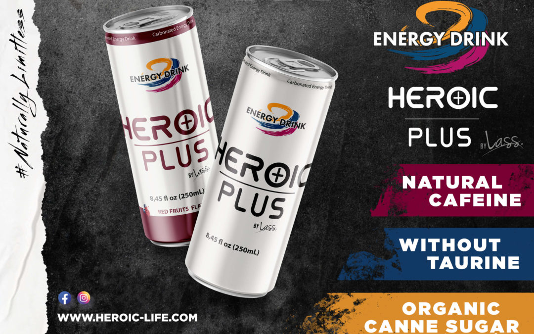 HEROIC PLUS : NEW DESIGN AND NEW FLAVOR
